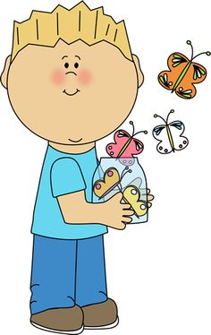 Bugs clipart boy Clip Butterflies mycutegraphics from Free