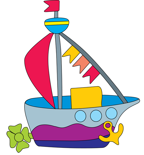 Yacht clipart toy sailboat Library Boats Art Clip Boat