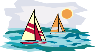 Sailboat clipart boating #1