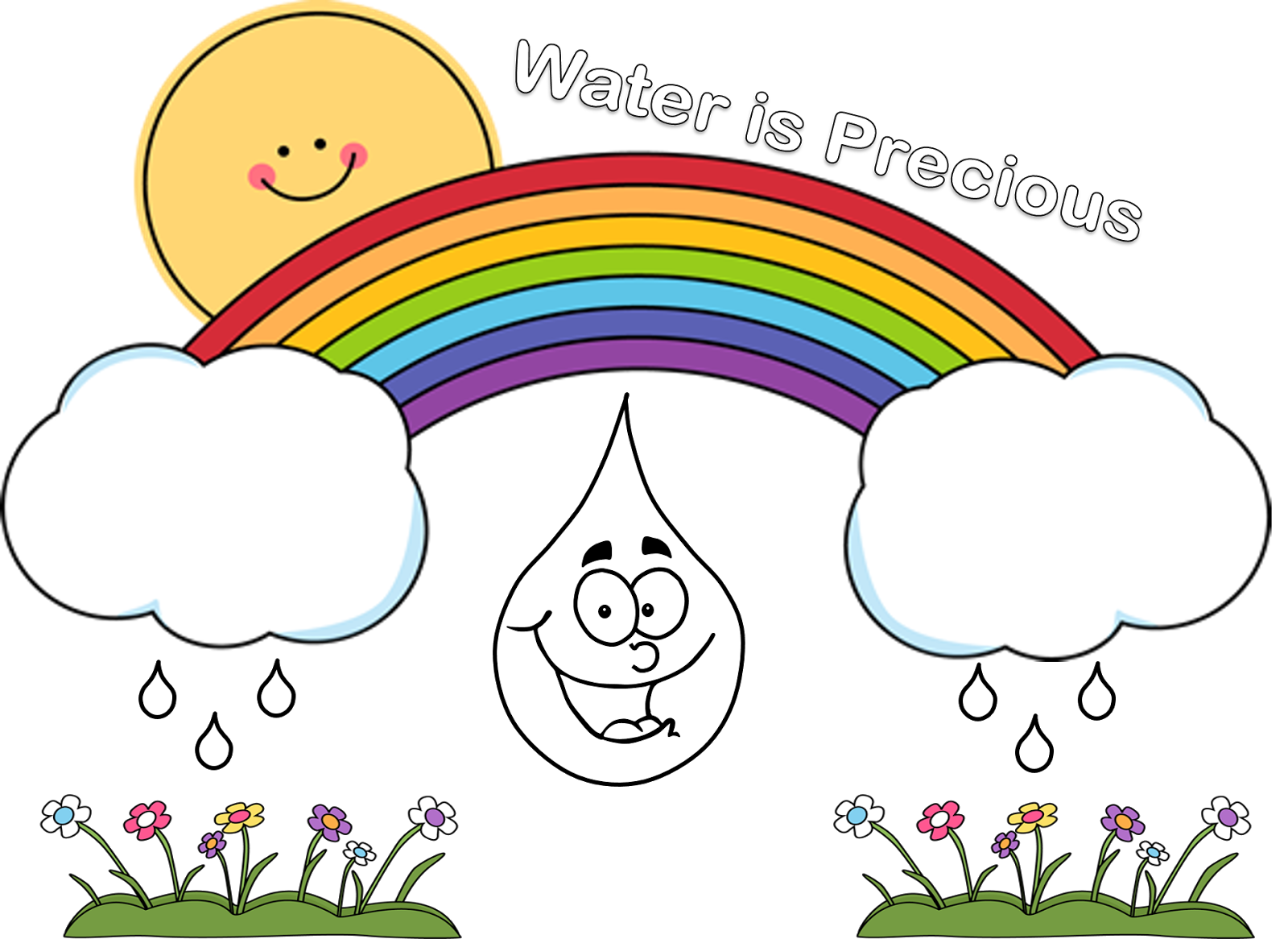 Geography clipart civics For water for Clipart Poster
