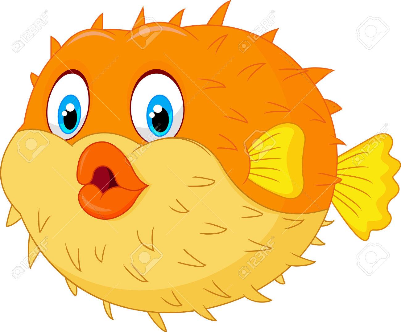 Pufferfish clipart Clipart Clipart fish puffer Fans