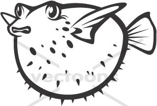 Pufferfish clipart Fish puffer Fish Clipart Fans