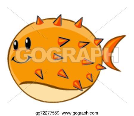 Pufferfish clipart Drawing Clipart Art Vector gg72277559