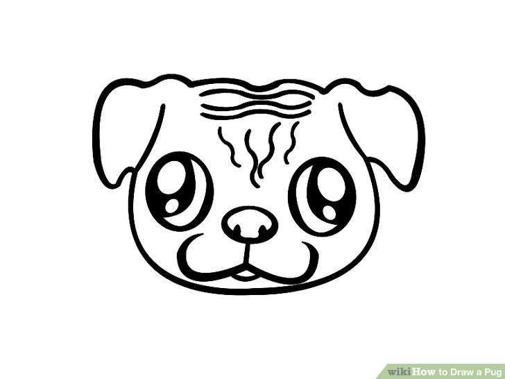 Drawn pug easy Draw titled Image Steps wikiHow