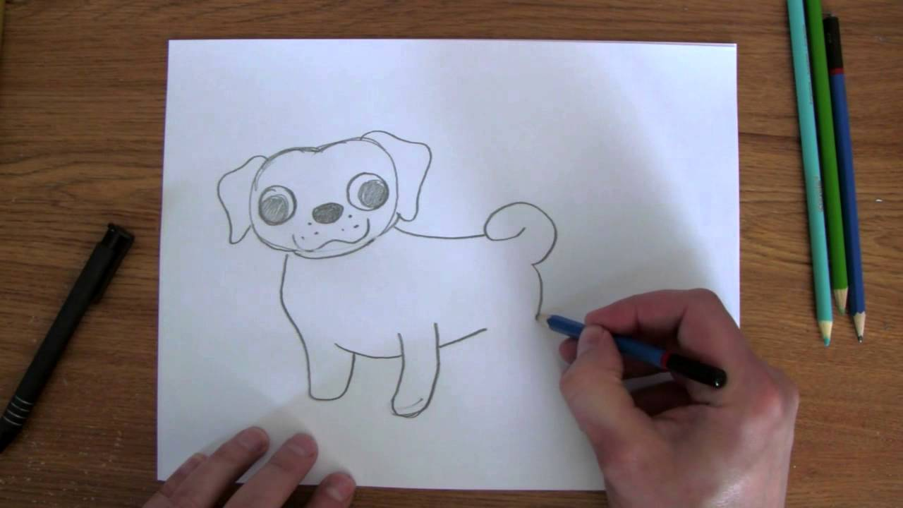 Drawn pug easy To How  YouTube Easy