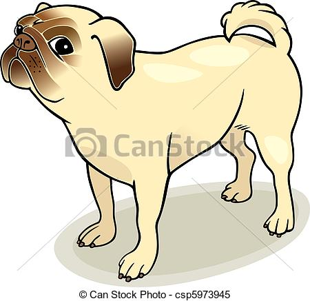 Drawn pug clip art Free Images Pug Clipart Clipart