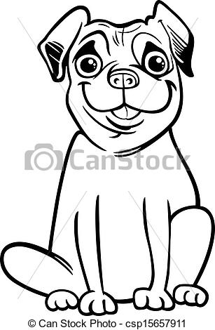 Drawn pug clip art Free Images Pug Clipart 20clipart