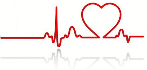 Love clipart heartbeat #1