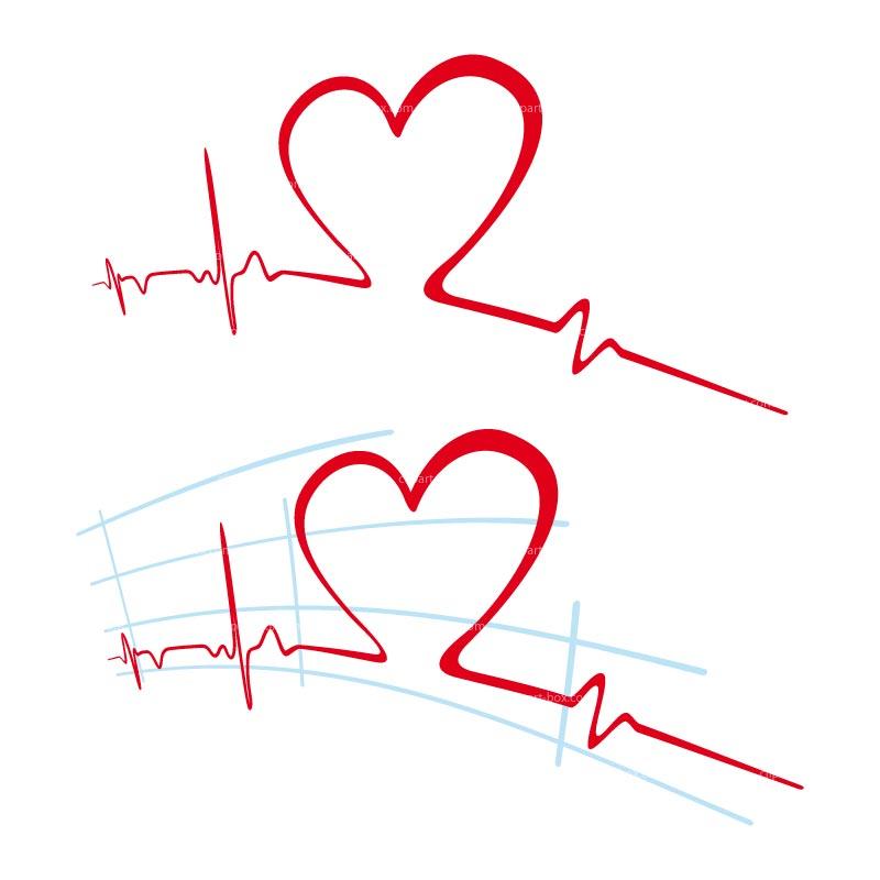 Pulse clipart heart rhythm #13