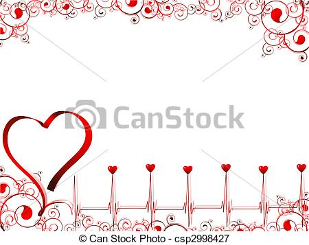 Pulse clipart love Royalty Free csp2998427 love EPS