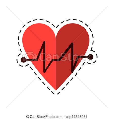 Pulse clipart love Icon Clipart cardiac beat medical