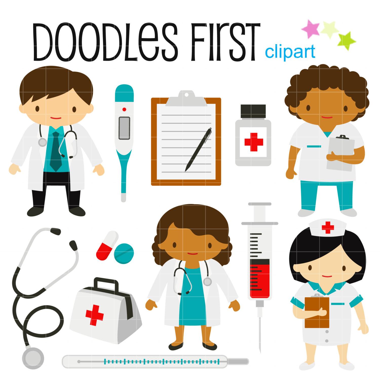 Uniform clipart doctor tool Doctors Nurse Clip and Card