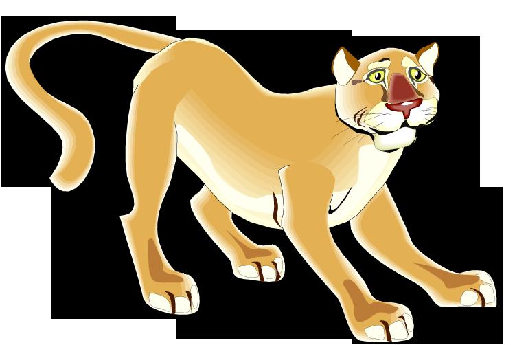 Puma clipart Clipart Free Puma Cat Puma