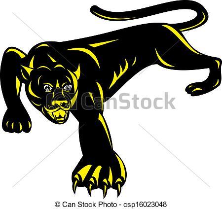 Puma clipart Of Puma csp16023048 done Illustration