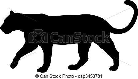 Puma clipart Vector of puma vector 1