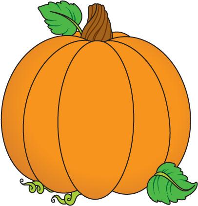 Pumpkin clipart Clip leaf free com Pumpkin