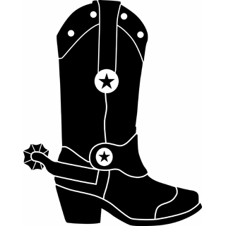 Western clipart cowgirl boot I boot Maybe boot cute?