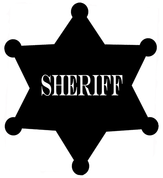 Cowgirl clipart police star Art Western Images Clip Clipart