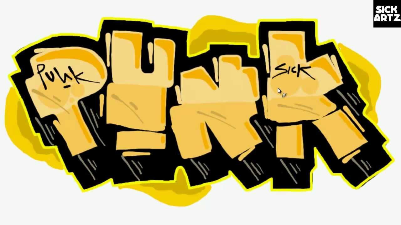 Punk clipart graffiti #1