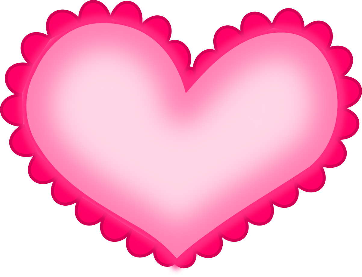Hearts clipart pink heart Library Heart Clip Clip Pink