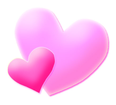 Hearts clipart pink heart Clipart Art  Free Download