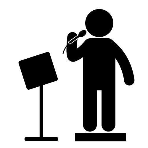 Singer clipart videoke Karaoke Christmas karaoke Clipart Free