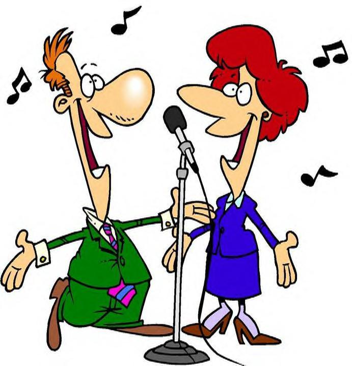 Singer clipart karaoke machine Silhouette  vector Free karaoke