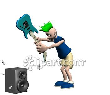 Punk clipart performer #5
