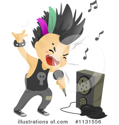 Punk clipart performer #1