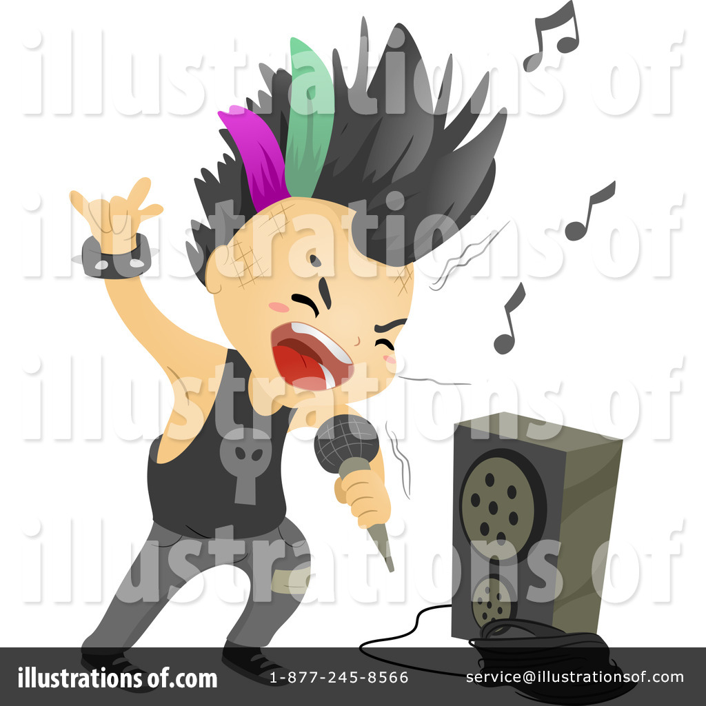 Punk clipart performer #3