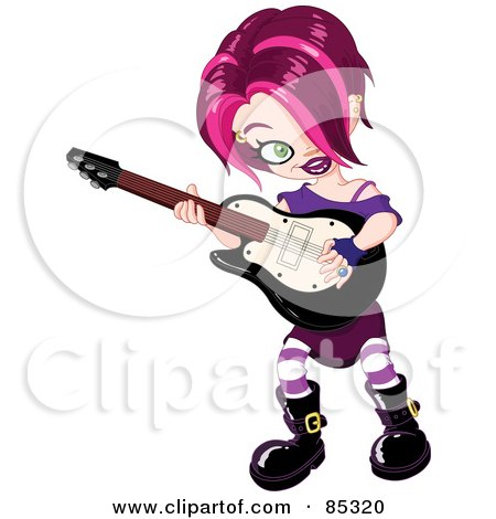 Punk clipart performer #2