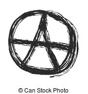 Punk clipart symbol  Anarchy vector Anarchy Vector