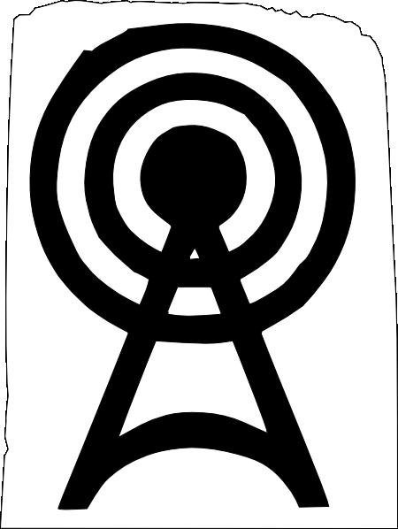 Punk clipart symbol Art com Radio Clip Logo