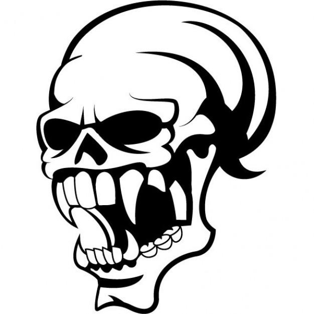 Ssckull clipart danger Art Skull vector Download Art