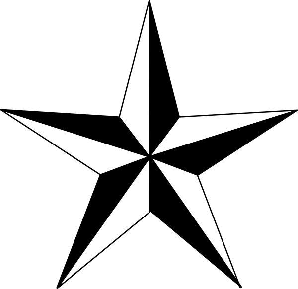Punk clipart western star #5