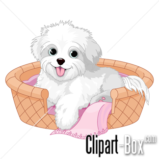 Pet clipart baby dog BASKET DOG baby CLIPARTS CLIPART