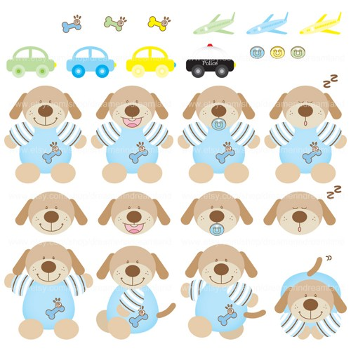Toy clipart printable #2