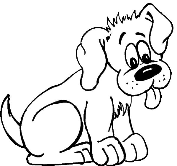 Color clipart dog From puppy Coloring Cute on