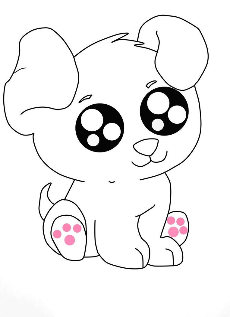 Drawn puppy easy Art Line Gemmy2Shoes Anime Art