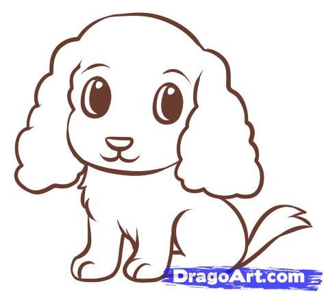 Drawn puppy dragoart How Draw an easy+drawing+tutorials Easy