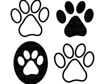 Paw clipart scottie Free paw clipart Collection Prints