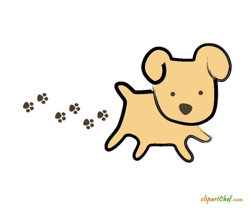 Pet clipart funny dog Pixels step graphic This clip