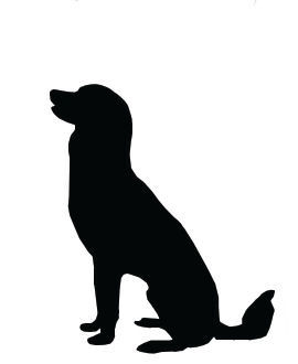 Larger clipart big dog Pictures Head Dog Art Sitting