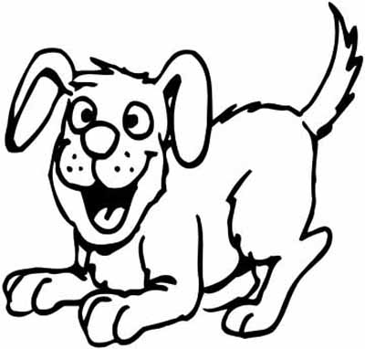Color clipart dog Magical Poochies Coloring Flea BowWows