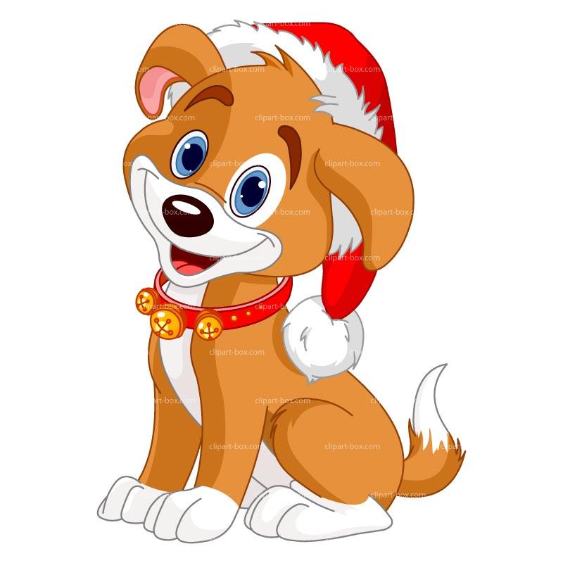 Box clipart dog Christmas Clipart  Dog clipart