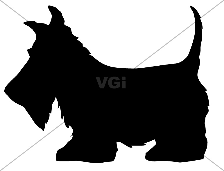 Paw clipart scottie Graphics terrier Using Works Scottish