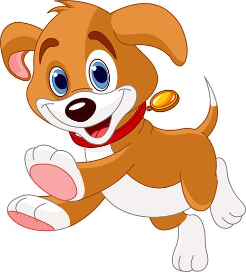 Pet clipart cute dog Dog vector cartoon  Pet