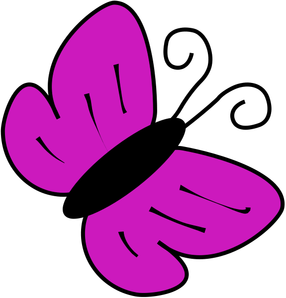 Purple clipart Animals art clip clip purple
