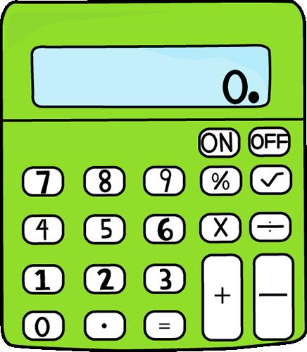 Larger clipart calculator Vector Lime Supplies Supplies Art