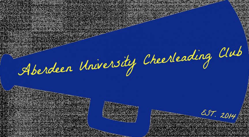 Club clipart megaphone Students Guest Blog: CHEERLEADING Aberdeen